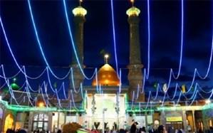 برگزاری جشنهای باشکوه نیمه شعبان در قبله تهران