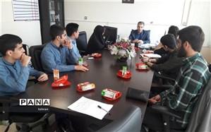 انتخاب مدیر جدید سازمان دانش آموزی منطقه 13 تهران