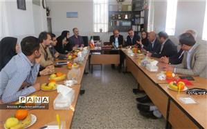 جلسه هم اندیشی در خصوص برگزاری همایش کشوری مدیران سمپاد