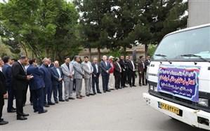 ارسال کمک های غیرنقدی دانش آموزان مدارس خراسان رضوی به مناطق سیل زده گلستان