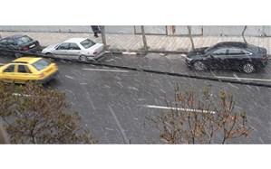 از باران و یخ زدگی تا گردوغبار در جاده های کشور