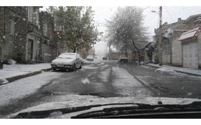 هفته ای سرد با بارش برف و باران برای اردبیلی ها