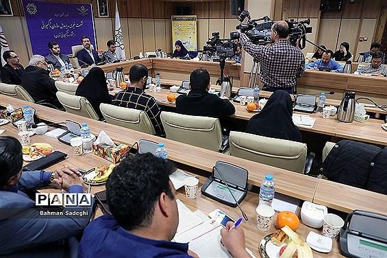 نشست خبری مدیر عامل سازمان تاکسیرانی تهران