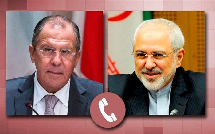 ظریف و لاوروف درباره برجام و سوریه گفت وگو کردند