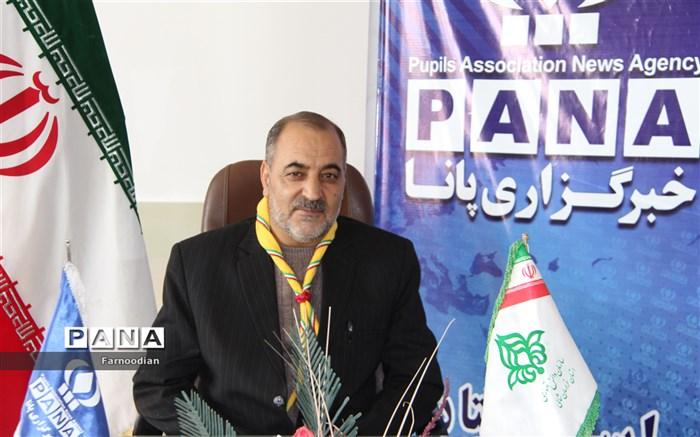 پیام تبریک مدیر سازمان دانش اموزی به مناسبت سالروز تاسیس سازمان