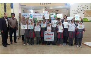 مسابقه نقاشی روز جهانی زمین پاک در هندیجان