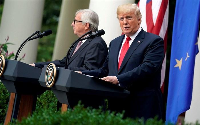 جنگ تجاری ترامپ و اتحادیه اروپا بالا گرفت