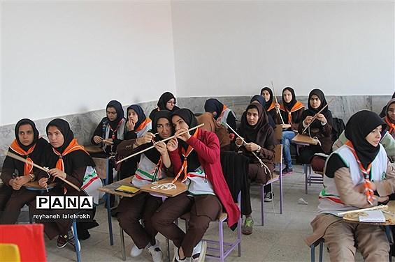 اردوی آمادگی پیشتازان دختر استان قم
