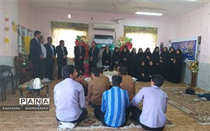 آیین تجلیل از برگزیدگان مسابقات قرآن و عترت در مرحله قطب استان خوزستان در شهرستان امیدیه برگزار گردید