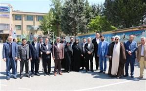 کلنگ ساخت خوابگاه پردیس امیر کبیر دانشگاه فرهنگیان البرز بر زمین زده شد
