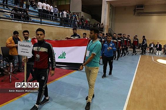 آئین افتتاحیه تورنومنت بین المللی دانشگاه ارومیه