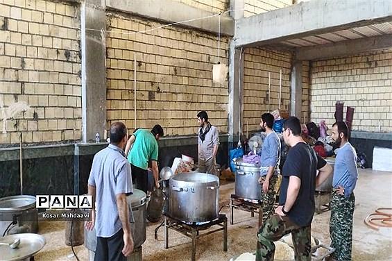 کمکرسانی کاروان خیرخواه مردم تهران در شهرستان کارون