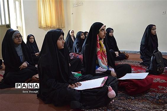 آخرین روز از مسابقات استانی قرآن، عترت و نماز دختران