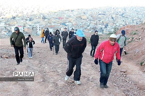 کوهپیمایی در تبریز