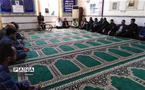 آیین یادبود شهدای خدمت رسان به سیل زدگان استان خوزستان برپا شد