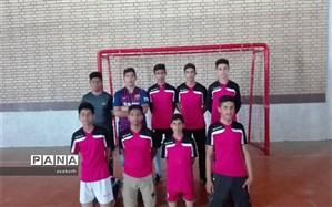 قهرمانی آموزشگاه آزادگان در مسابقات هندبال پسران متوسطه اول شادگان