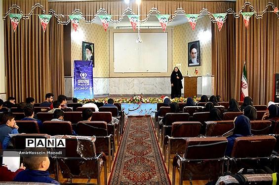 دوره آموزشی خبرنویسی و عکاسی دانشآموزان ناحیه یک تبریز