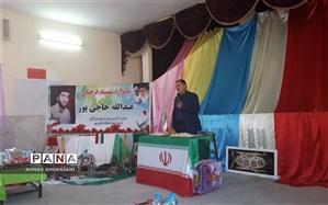 یادواره شهید فرهنگی (عبدالله حاجی پور) در لالی برگزار شد