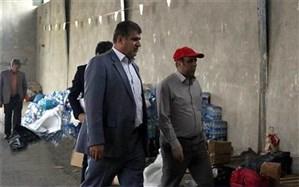 ارسال 15 کامیون از کمکهای غیرنقدی فرهنگیان و دانشآموزان تهران به خوزستان و لرستان