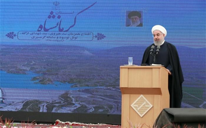 روحانی در کرمانشاه