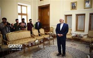 دیدار ظریف با وزرای امور خارجه 4 کشور در دوحه