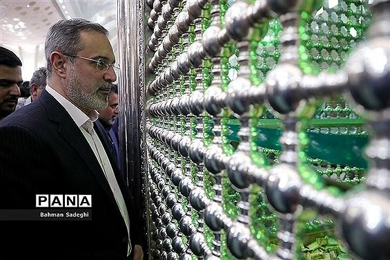 مراسم تجدید میثاق فرهنگیان با آرمانهای امام خمینی (ره)