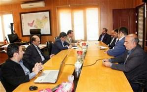 دیدار مدیر عامل شرکت شهرک های صنعتی استان تهران با شهردار فشافویه