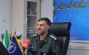 ۳۵۰ بسیجی و پاسدار استان سمنان به روستای سیلزده چم مهر لرستان اعزام شدند