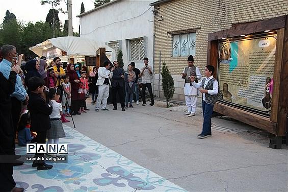 افتتاحیه پردهخوانی  و نقالی هفت قاب تاریخ شیراز درهفته شیراز