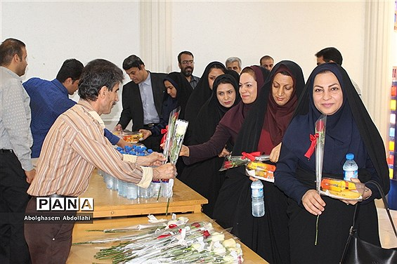 تقدیر از معلمان  برتر استانی و منطقهای  آموزش و پرورش استان بوشهر-1