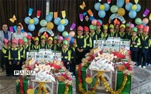 یک روز شاد بابرپایی جشن الفبا در مدارس منطقه زواره