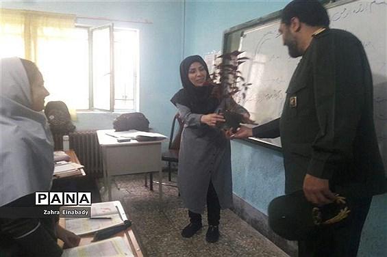 مراسم تجلیل سبز پوشان شهرستان ملارد از مقام شامخ معلم