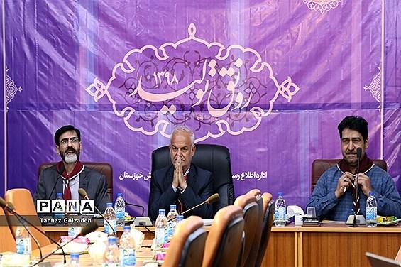 نشست هماهنگی پوشاک و سرویس مدارس در سازمان دانشآموزی خوزستان