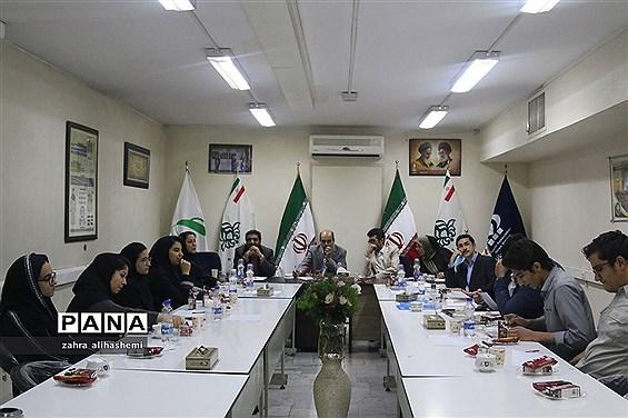 نشست ماهیانه مجلس دانشآموزی تهران