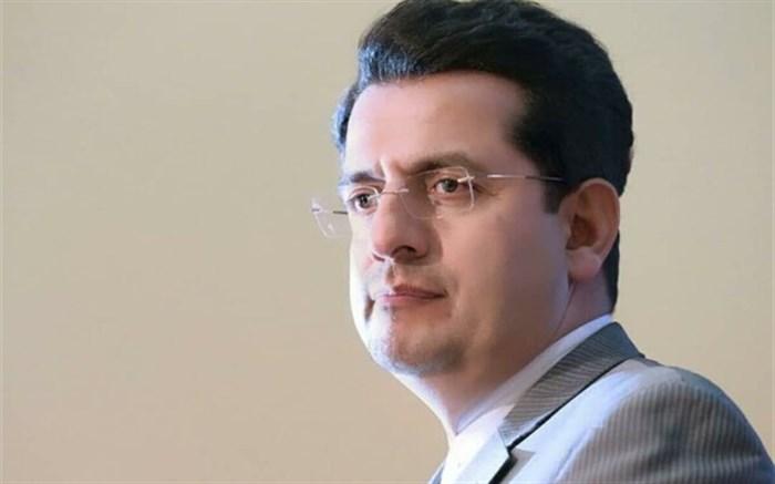 سخنگوی وزارت خارجه جان باختن دهها تن در سانحه هواپیمای روسیه را تسلیت گفت