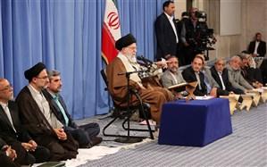 رهبر معظم انقلاب: ملت ایران قدر انقلاب را دانست به استکبار اعتماد نکرد و پیشرفت کرد
