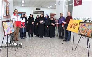 گرامیداشت مقام معلم توسط هلال احمر شهرستان یزد