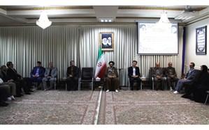دیدار اعضای ستاد بزرگداشت مقام معلم استان کردستان  با نماینده ولی فقیه در کردستان