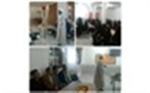 برگزاری کارگاه آسیب شناسی فضای مجازی ویژه دانش آموزان دختر کلات