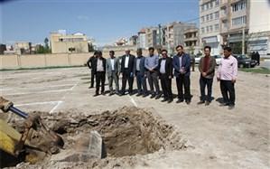 شروع عملیات اجرایی پروژه 9 کلاسه شهرک کشاورزی اردبیل
