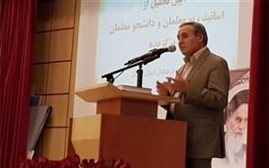 آئین تجلیل از اساتید و نو معلمان دانشگاه فرهنگیان استان اردبیل
