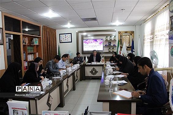 نشست خبری ریاست سازمان دانشآموزی خراسان جنوبی بااصحاب رسانه