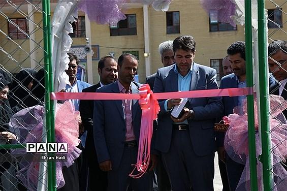 افتتاح اولین زمین چمن مصنوعی آموزش پروش خراسان رضوی ویژه دانشآموزان دختر