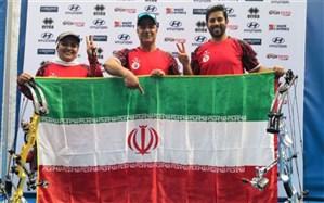 کاپ جهانی تیراندازی با کمان؛ میکس کامپوند ایران به مدال برنز رسید
