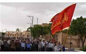 مردم بهاباد در حمایت از تصمیم شورای امنیت ملی راهپیمایی کردند