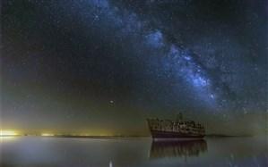 کشتی «حمزه» پس از 6 سال در دریاچه ارومیه شناور شد