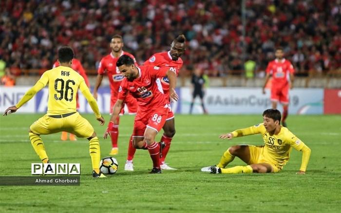 صعود پرسپولیس به فینال جام باشگاه های آسیا
