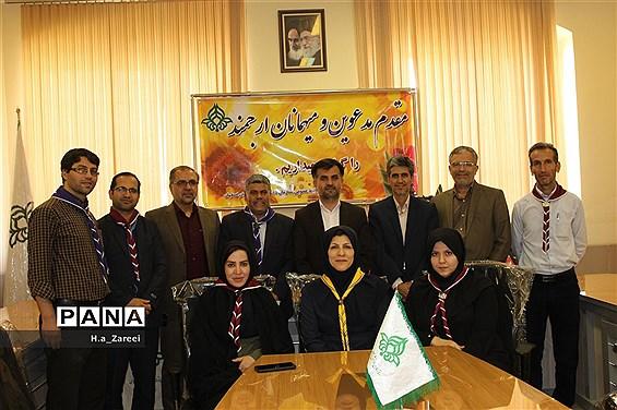 حضور مدیرکل آموزش و پرورش اصفهان در سازمان دانشآموزی استان