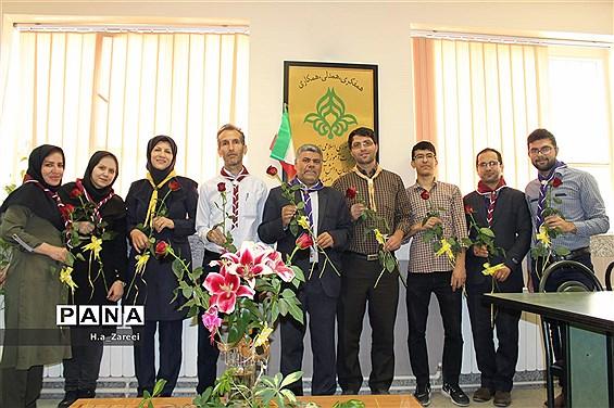 حضور رئیس آموزش و پرورش پیربکران در سازمان دانش آموزی اصفهان