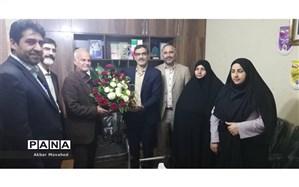 دیدار معاون تربیت بدنی و سلامت اد اره کل آموزش و پرورش با رییس سازمان دانش آموزی خوزستان